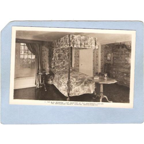 MA Concord The Blue Bedroom Last Quarter Of The Eighteenth Century ma_box2~839