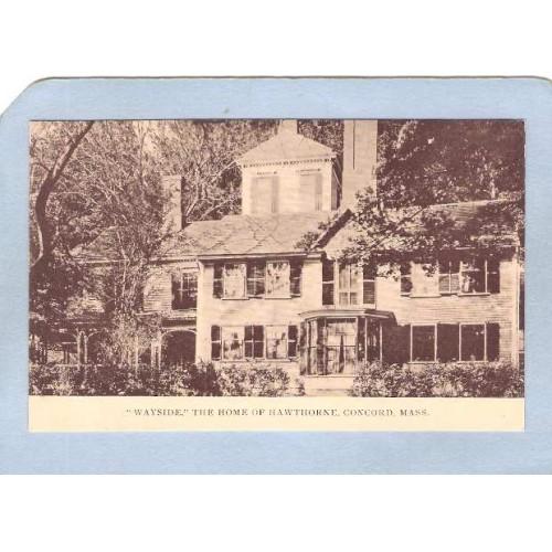 MA Concord Wayside Home Of Hawthorne ma_box2~903