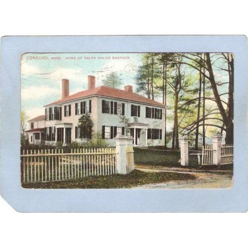 MA Concord Home Of Ralph Waldo Emerson ma_box2~916