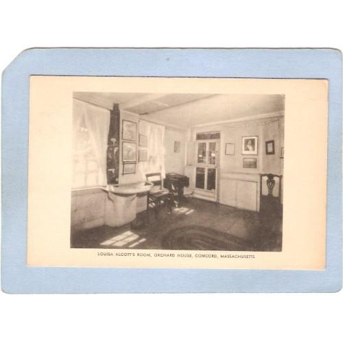 MA Concord Louisa May Alcotts Room Orchard House ma_box2~945