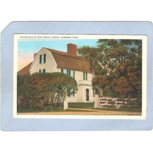 MA Danvers Birthplace Of General Israel Putnam ma_box2~998