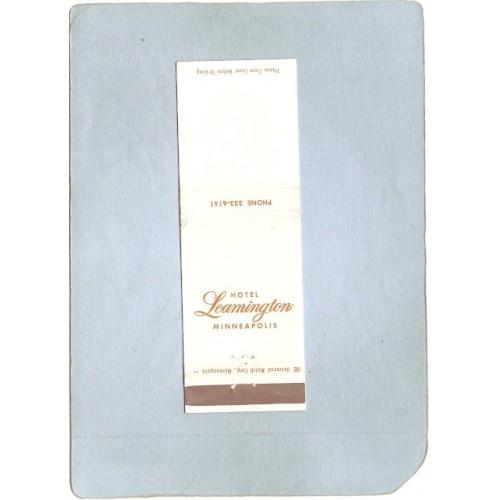 MN Minneapolis Matchcover Hotel Leamington spare_box1~189