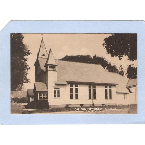 NJ Califon Califon Methodist Church nj_box3~1091