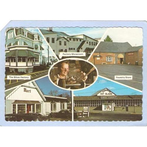 NJ Flemington Advertising Card Flemington Cut Glass Company 6 View nj_b~1115