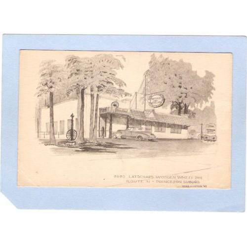 NJ Princeton Latschars Wooden Wheel Inn Rt 31 nj_box3~1209