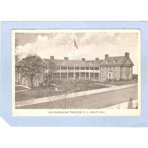 NJ Trenton Old Barracks Built 1758-9 nj_box3~1328