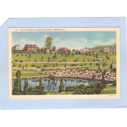NJ Trenton Rock Garden Cadwalader Park nj_box3~1359