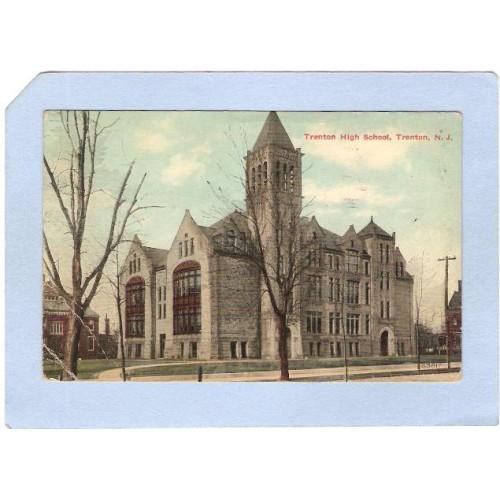 NJ Trenton Trenton High School nj_box3~1381