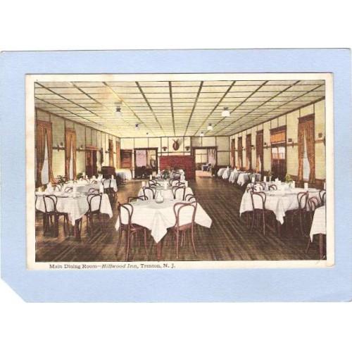 NJ Trenton Main Dining Room Hillwood Inn nj_box3~1388