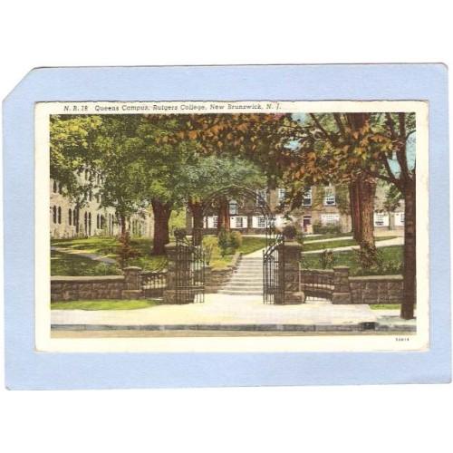 NJ New Brunswick Queens Campus Rutgers College nj_box3~1442