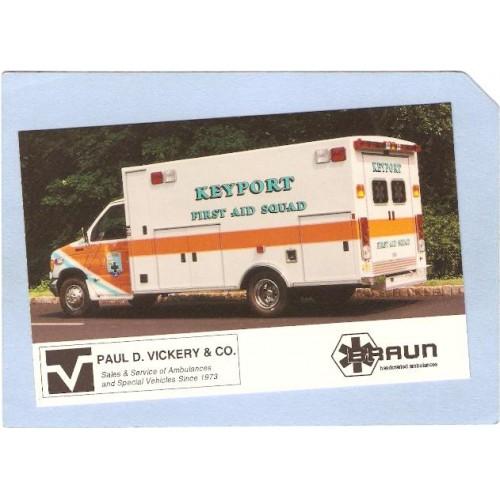 NJ Keyport Ambulance Keyport First Aid Squad nj_box4~1551