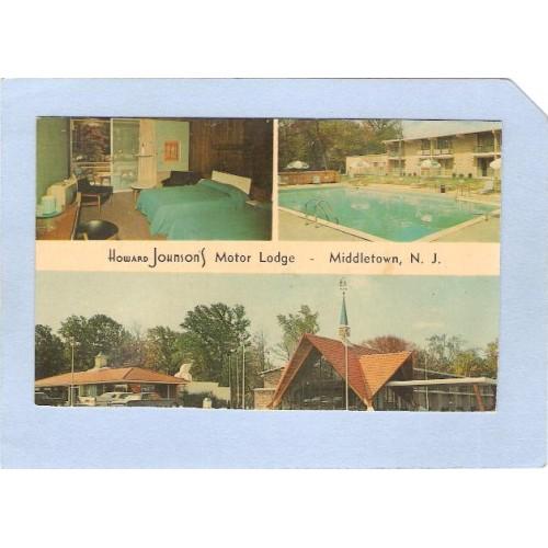 NJ Middletown Howard Johnsons Motor Lodge 3 View nj_box4~1581