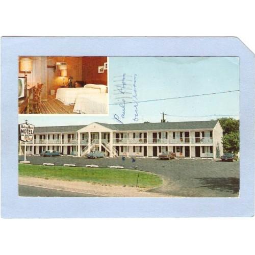NJ Neptune The Betsy Ros All Colonial Motel Rts 66 & 33 2 View nj_box4~1585