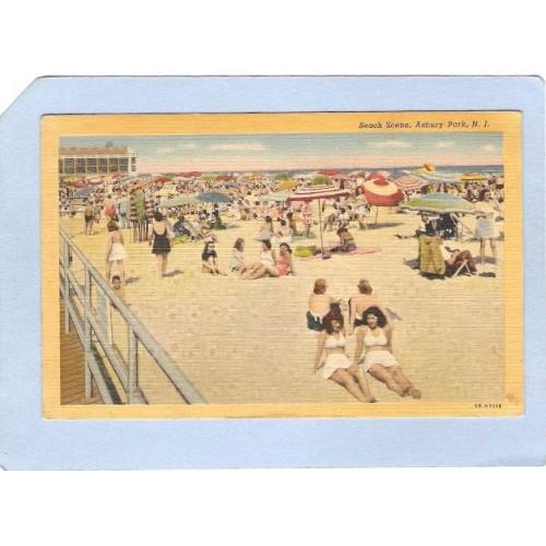 NJ Asbury Park Beach Scene nj_box4~1706