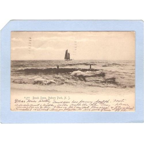 NJ Asbury Park Beach Scene nj_box4~1708