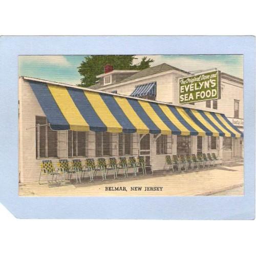 NJ Belmar The Original Dave & Evelyns 507 F St On Rt 4 N nj_box4~1883