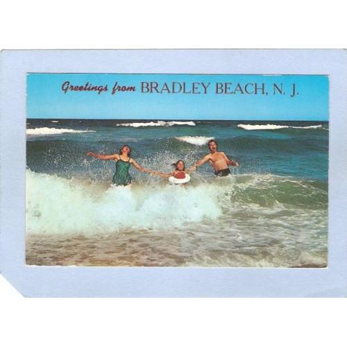 NJ Bradley Beach Greetings From Bradley Beach NJ nj_box4~1891