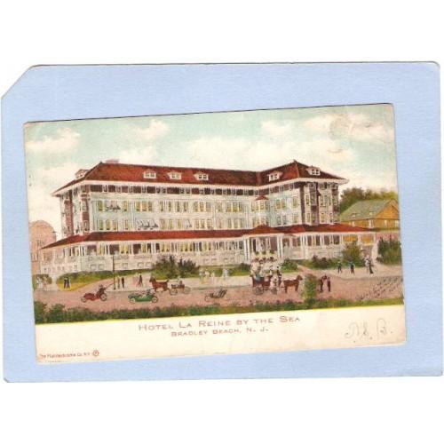 NJ Bradley Beach Hotel La Reine By The Sea nj_box4~1898