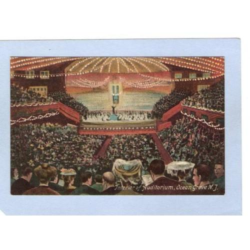 NJ Ocean Grove Interior Auditorium  nj_box4~1959