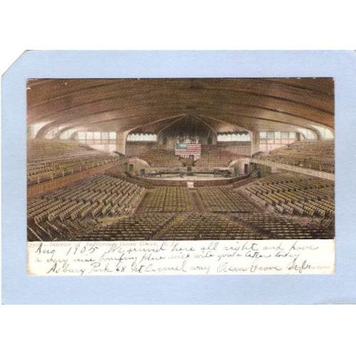 NJ Ocean City Interior Of Auditorium nj_box4~1964