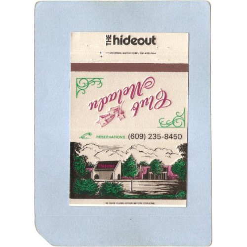 NJ Mt Laurel Matchcover The Hideout & Club Meladu Rt 38 nj_box1~3154