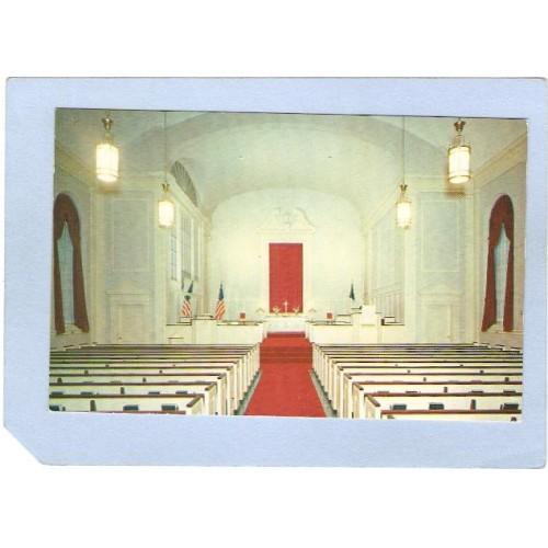 NJ Red Bank First Presbyterian Church Interior View nj_box4~2013