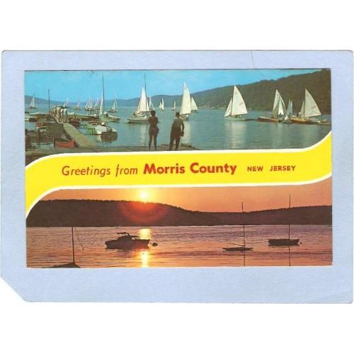 NJ Morris County Greetings From Morris County 2 View nj_box4~2027