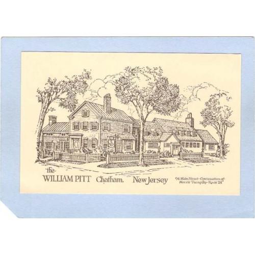 NJ Chatham The Wiliam Pitt Inn Colonial Village 94 Main St Chatham NJ n~2037