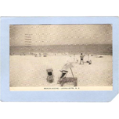 NJ Lavallette Beach Scene nj_box5~2188