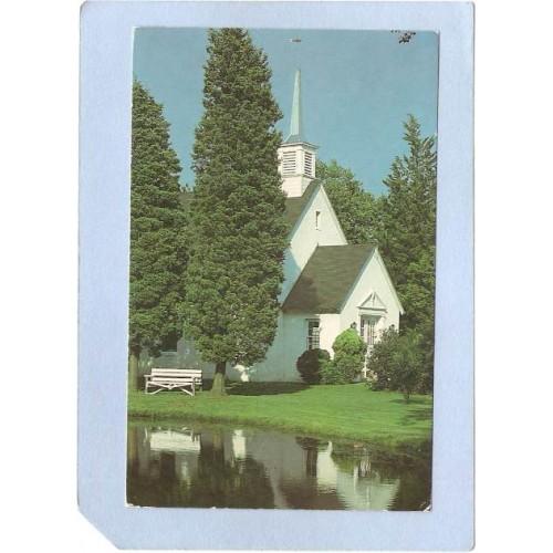NJ Whiting The Chapel Overlooking Lower Lake At Keswick Colony nj_box5~2222