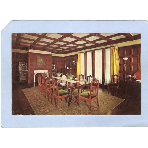NJ Ringwood Ringwood Manor State Park Ringwood Manor Dining Room nj_box~2382