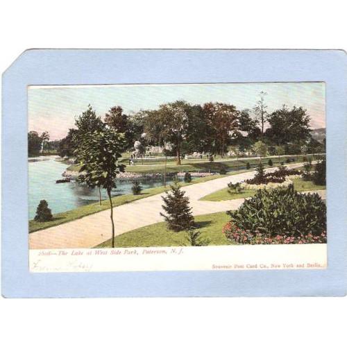 NJ Paterson The Lake At West Side Park nj_box5~2437