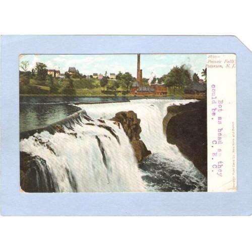 NJ Paterson Passaic Falls nj_box5~2448