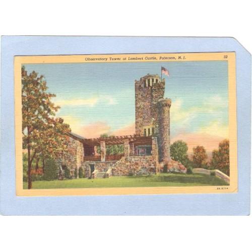 NJ Paterson Observatory Tower At Lambert Castle nj_box5~2460