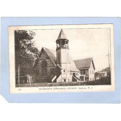 NJ Andover Methodist Episcopal Church nj_box5~2635