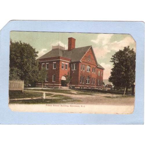 NJ Belvidere Public School Building nj_box6~2845