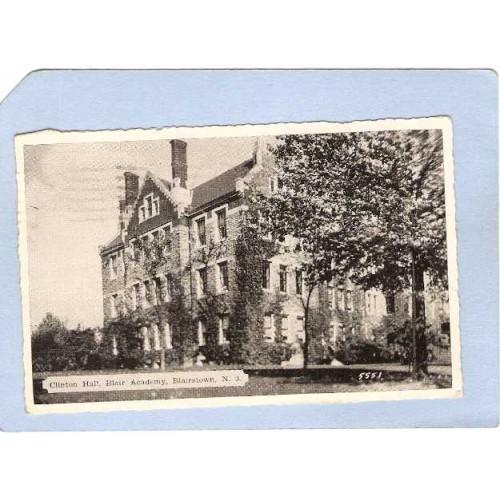 NJ Blairstown Clinton Hall Blair Academy nj_box6~2865