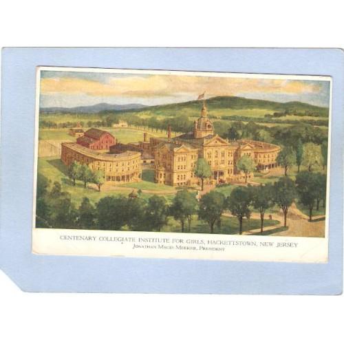NJ Hackettstown Centenary Collegiate Instutite For Girls Jonathan Magie Me~2892