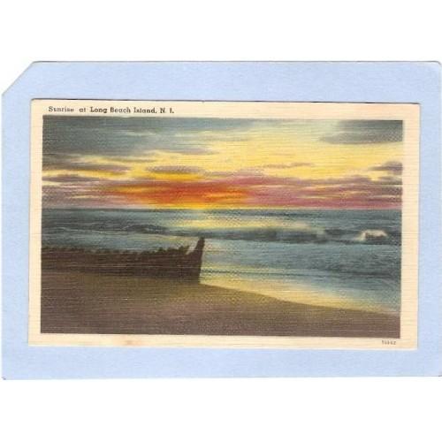 NJ Long Beach Island Sunrise On Long Beach Island NJ nj_box1~299