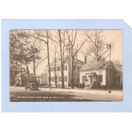 NJ Mt Holly Burlington County Court House nj_box1~318