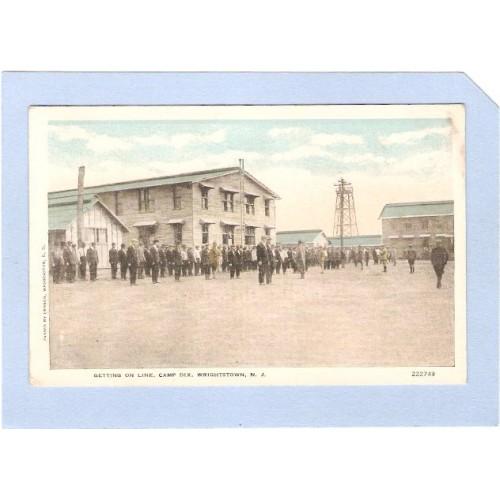 NJ Fort Dix Getting On Line Camp Dix Wrightstown NJ nj_box1~340