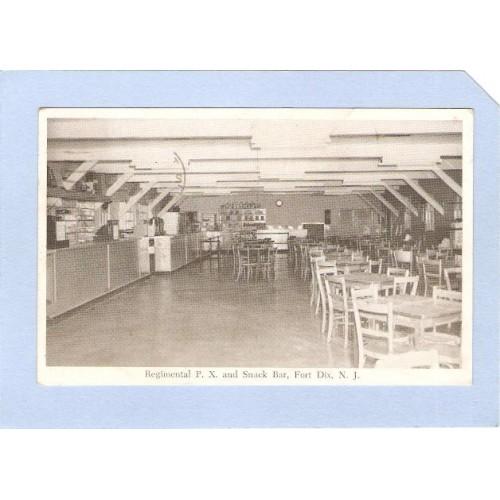 NJ Fort Dix Regimental P X & Snack Bar Fort Dix NJ nj_box1~348