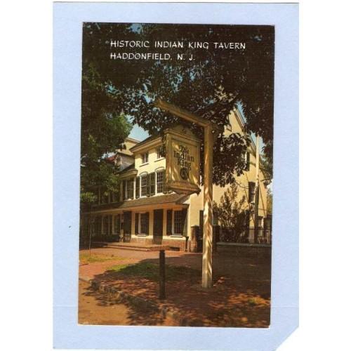 NJ Haddonfield Historic Indian King Tavern nj_box1~373