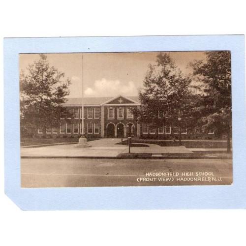 NJ Haddonfield Haddonfield High School Front View Haddonfield NJ nj_box1~380