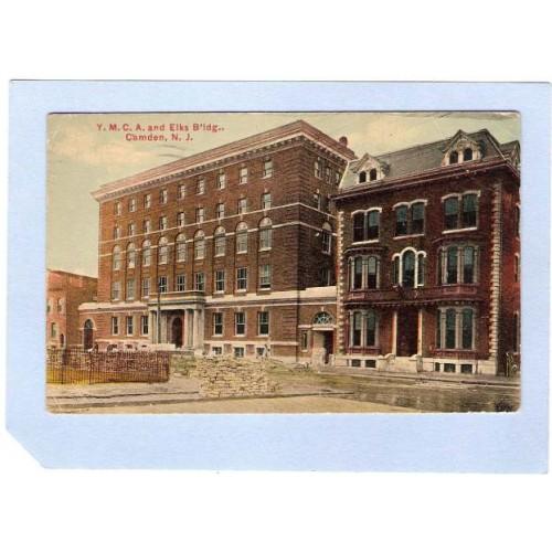 NJ Camden YMCA & Elks Bldg Camden NJ nj_box1~419