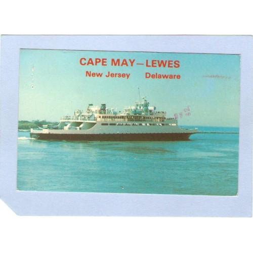 NJ Cape May Cape May-Lewes New Jersey Deleware nj_box2~525