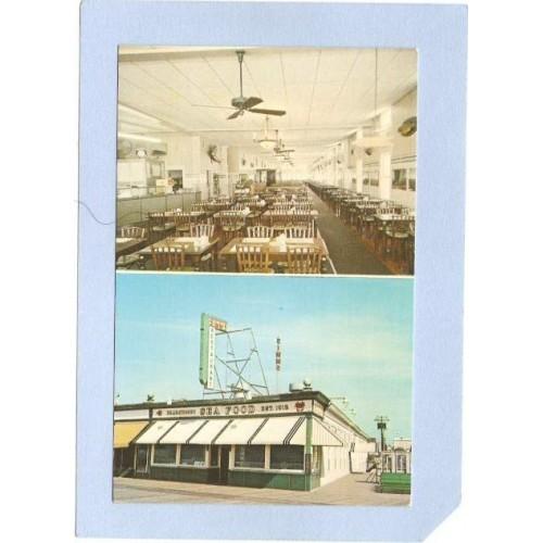 NJ Ocean City Simms Restaurant In The Heart Of The Boardwalk At Ocean City~577