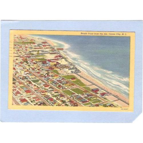 NJ Ocean City Beach Front From The Air nj_box2~624