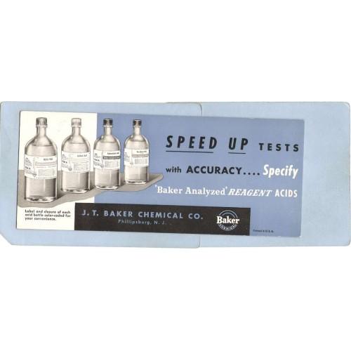 NJ Phillipsburg Blotter Unused J T Baker Chemical Co nj_box6~3602