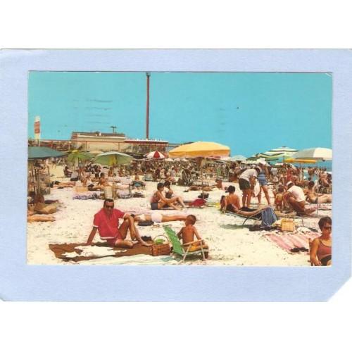 NJ Wildwood By The Sea Beach South Of Fun Pier nj_box2~712